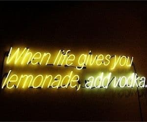 vodka, lemonade, and quotes image