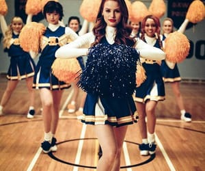 riverdale, cheryl blossom, and cheerleader image