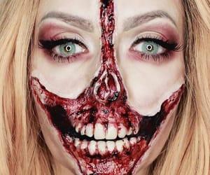 Halloween, inspo, and make up image