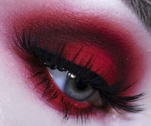 red and make up image