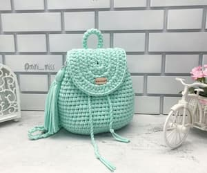 backpack, fashion, and handmade image