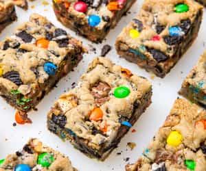 bars, chocolate, and Cookies image
