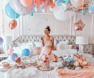 balloons, cozy, and decor image