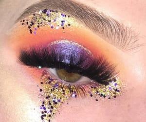 artist, makeup, and eyebrows image