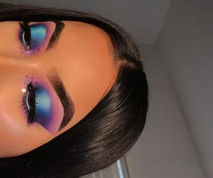 artist, blue, and eyebrows image