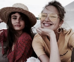 model, taylor hill, and romee strijd image
