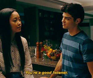 gif, lara jean covey, and movie quotes image