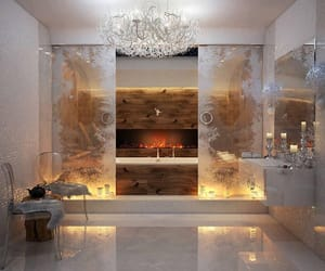 bathroom, luxury, and beautiful image