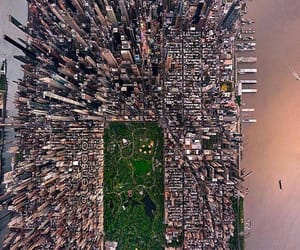 above, city, and newyork image