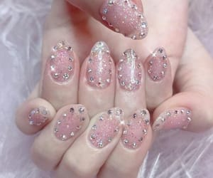manicure, nails, and nails art image