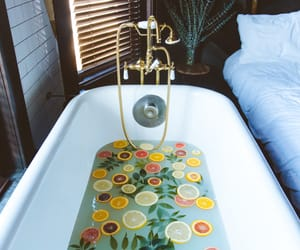 bath, relax, and bathroom image