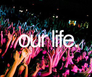 life, party, and concert image