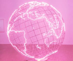 pink, world, and aesthetic image
