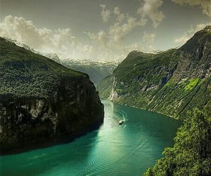 nature, norway, and beautiful image