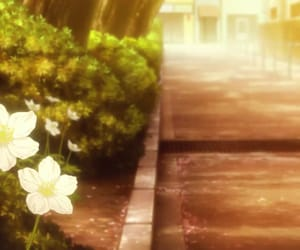 anime, scenery, and free! dive to the future image