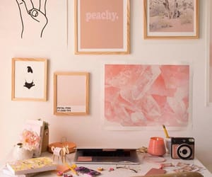 decoration, pink, and decor image