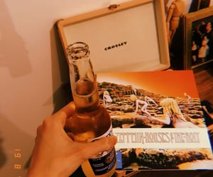 beer, home, and led zeppelin image