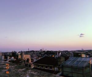 blue sky, city, and galata image