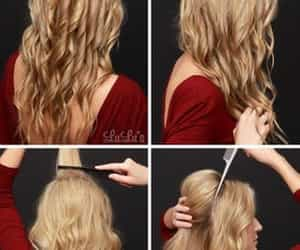 hair, hairtutorials, and tutorials image