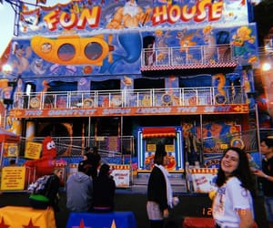 aesthetic, blue, and carnival image