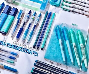 blue, school, and study image