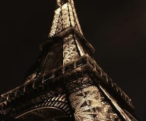 light, paris, and bynight image