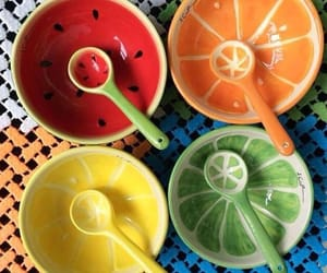 bowl, fruit, and cute image
