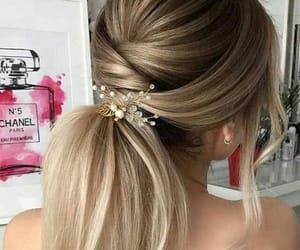 blonde, hair, and simple image