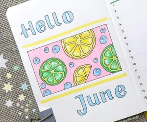 journal and june image