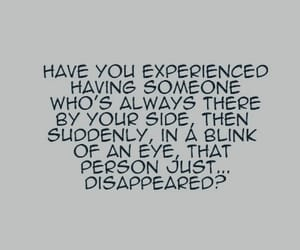 quotes, someone, and disappeared image