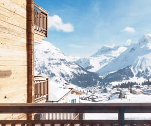 Alps, resort, and winter image