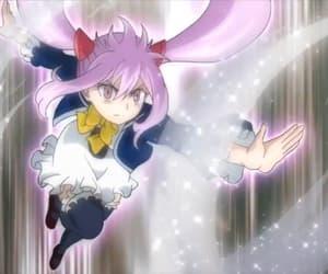 anime, anime girl, and pink hair image