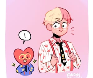 fanart, idol, and bts image