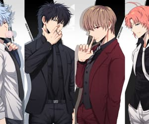 boys, fanart, and gintama image