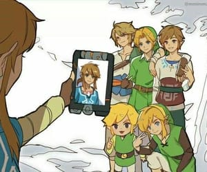 link, the legend of zelda, and nintendo image