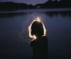girl, alone, and alternative image