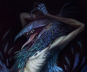 bird, humanoid, and creature feature image