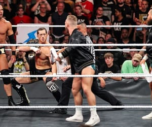 trent seven, kyle o'reilly, and roderick strong image