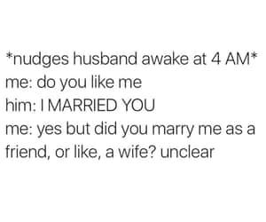 married, funny, and quote image