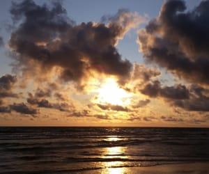 beach, sea, and palanga image