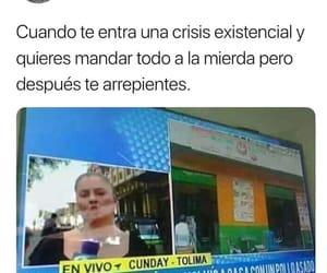 crisis, memes, and risas image