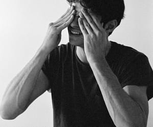 noah centineo, boy, and black and white image