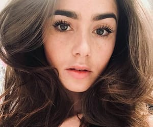 beauty, pretty, and lily collins image
