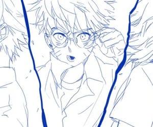 naruto, sasuke uchiha, and team 7 image