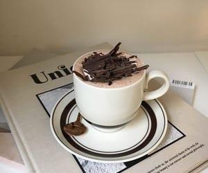 chocolate, drink, and coffee image