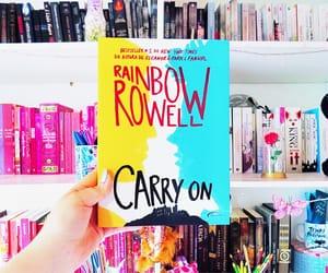 book, livros, and rainbow rowell image