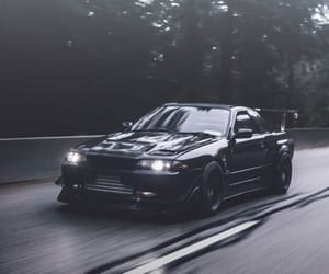 black, nissan, and turbo image