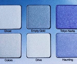 blue, makeup, and eyeshadow image