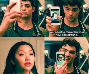 lara jean and peter kavinsky image