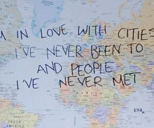 quotes, city, and travel image